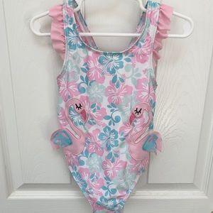 Sol Swim Toddler Girls One Piece Bathing Suit